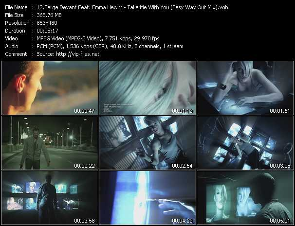 Serge Devant Feat. Emma Hewitt video screenshot