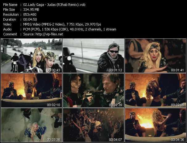 video Judas (R3hab Remix) screen