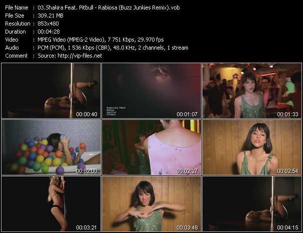 video Rabiosa (Buzz Junkies Remix) screen