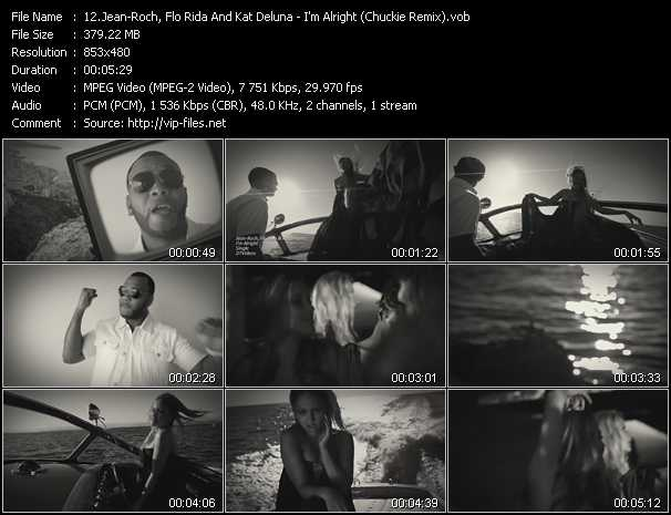 Jean-Roch, Flo Rida And Kat DeLuna video screenshot
