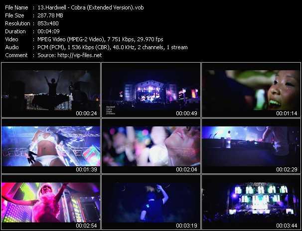 video Cobra (Extended Version) screen