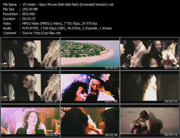 Vanity video screenshot
