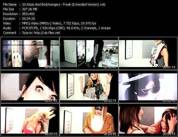 Klaas And Bodybangers video screenshot
