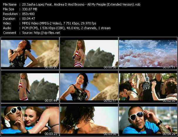 Sasha Lopez And Andreea D Feat. Broono video screenshot
