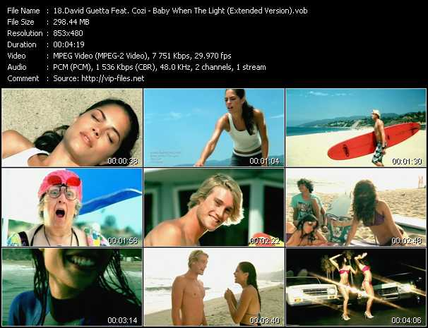 David Guetta Feat. Cozi video screenshot