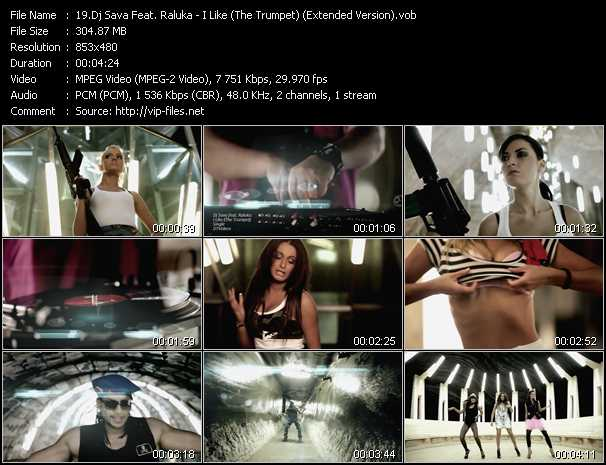 Dj Sava Feat. Raluka video screenshot