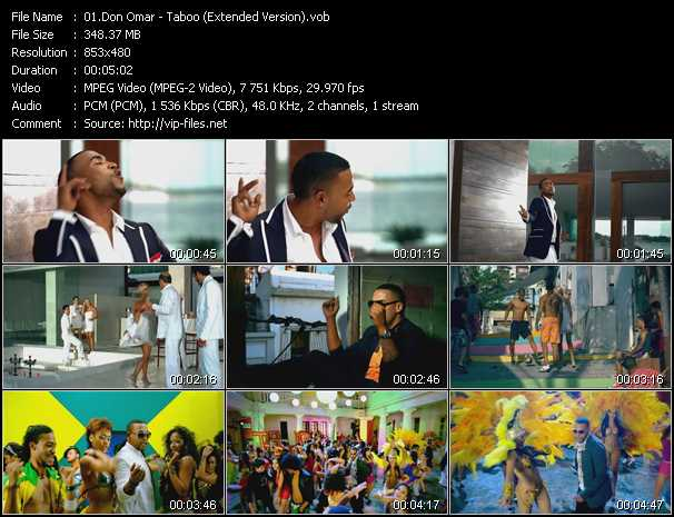 video Taboo (Extended Version) screen