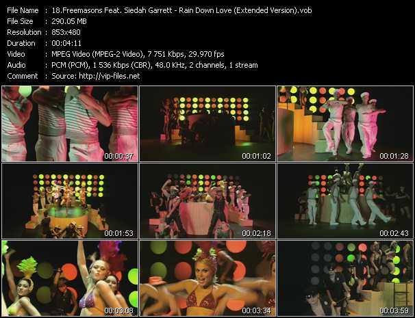 video Rain Down Love (Extended Version) screen