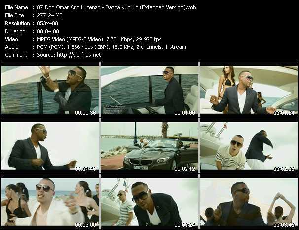 Don Omar And Lucenzo video screenshot
