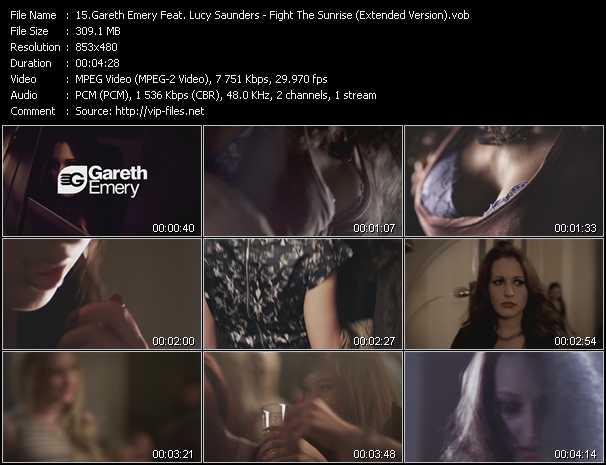 Gareth Emery Feat. Lucy Saunders video screenshot