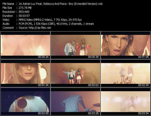 Adrian Lux Feat. Rebecca And Fiona video screenshot