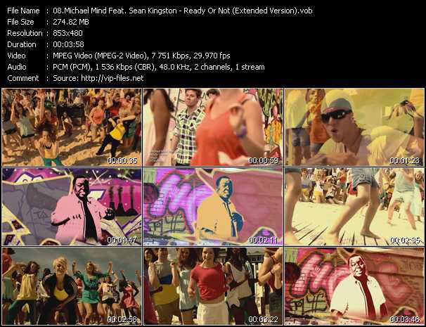 Michael Mind Feat. Sean Kingston video screenshot