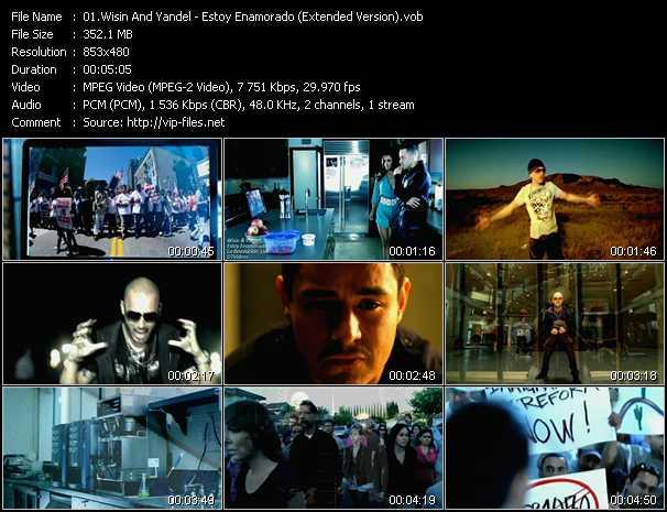 video Estoy Enamorado (Extended Version) screen
