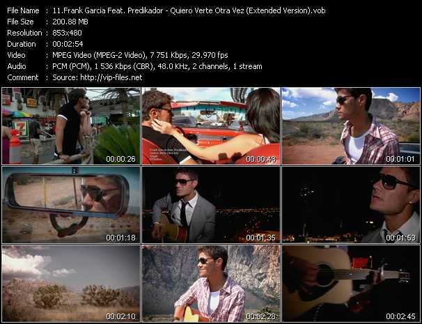 Frank Garcia Feat. Predikador video screenshot