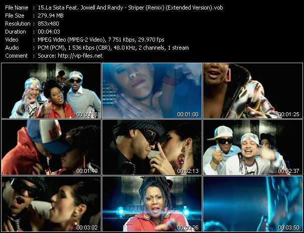 La Sista Feat. Jowell And Randy video screenshot