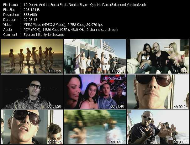 Donko And La Secta Feat. Nenita Style video screenshot