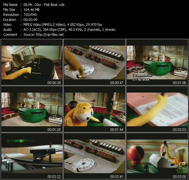 Mr. Oizo video screenshot