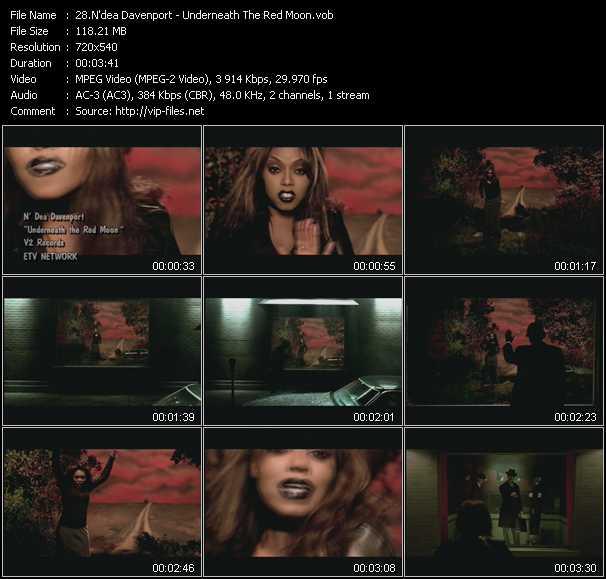 N'dea Davenport video screenshot