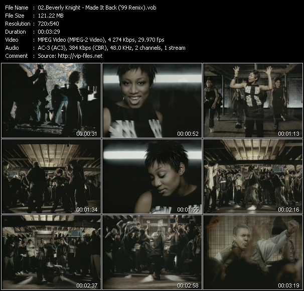 Beverley Knight video screenshot