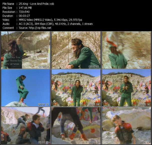 King video screenshot