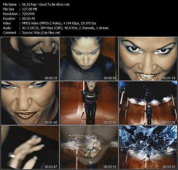 Dj Rap video screenshot
