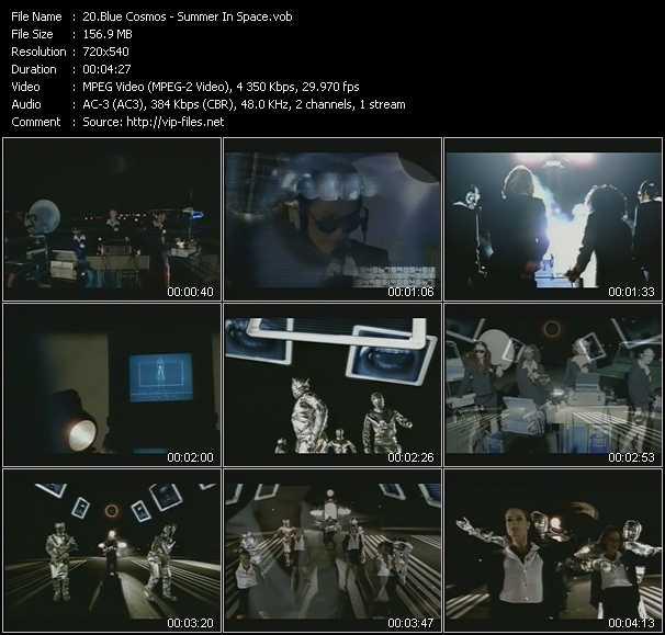 Blue Cosmos video screenshot