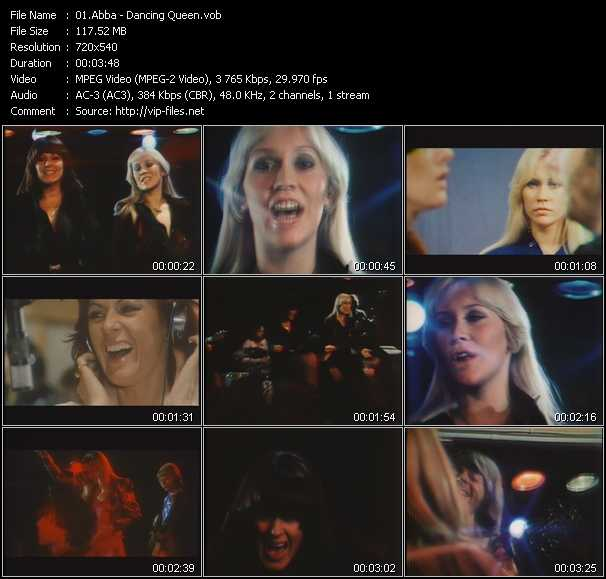 Abba video screenshot