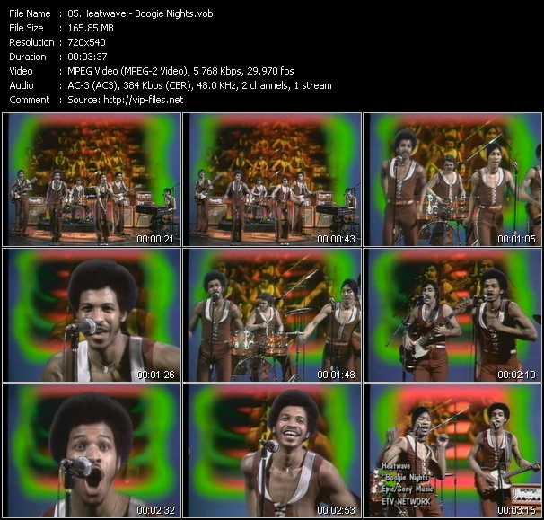 Heatwave video screenshot