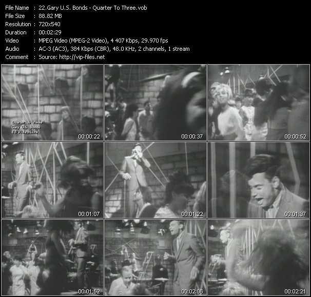 Gary U.S. Bonds video screenshot
