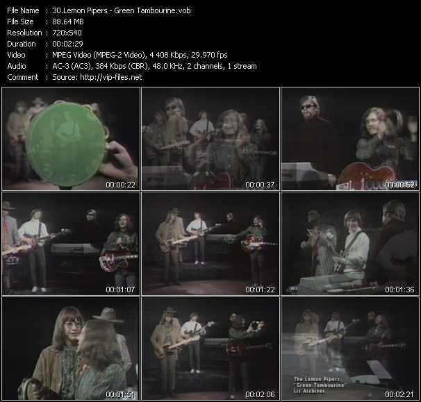Lemon Pipers video screenshot