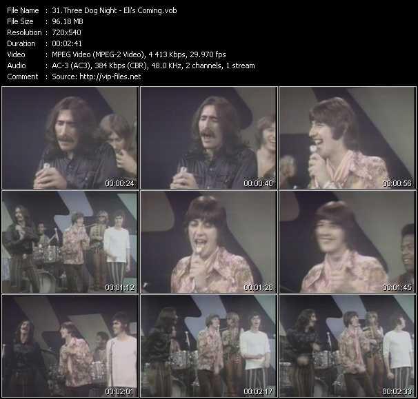 Three Dog Night video screenshot