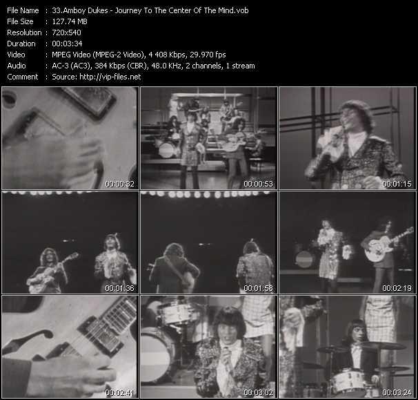 Amboy Dukes video screenshot