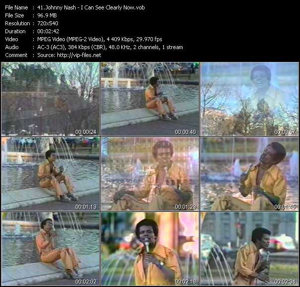 Johnny Nash video screenshot