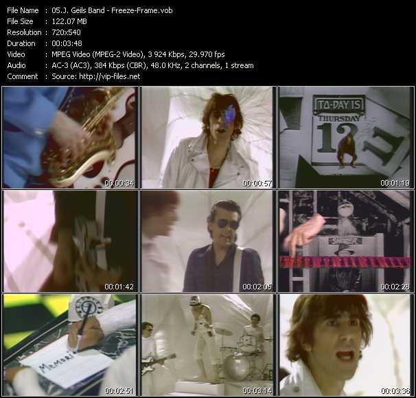 J. Geils Band video screenshot