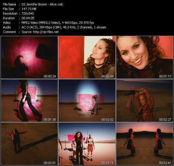 Jennifer Brown video screenshot