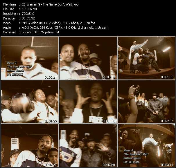 Warren G video screenshot