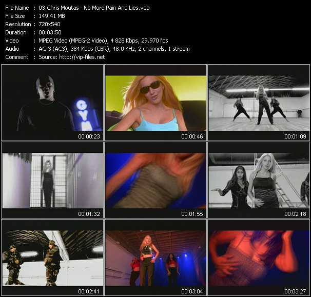 Chris Moutas video screenshot