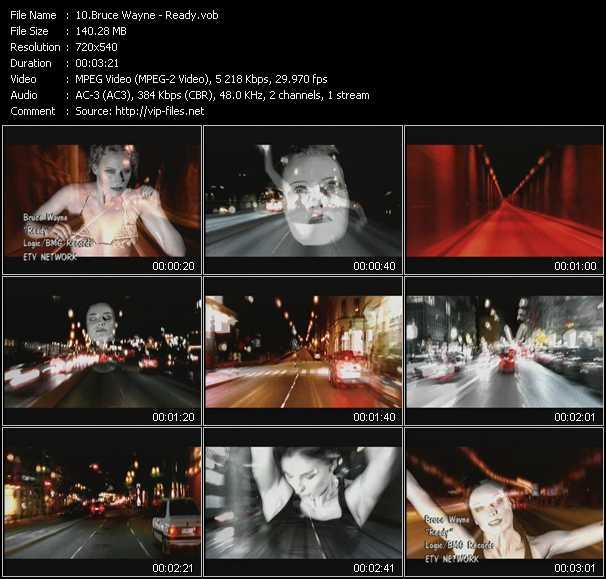 Bruce Wayne video screenshot