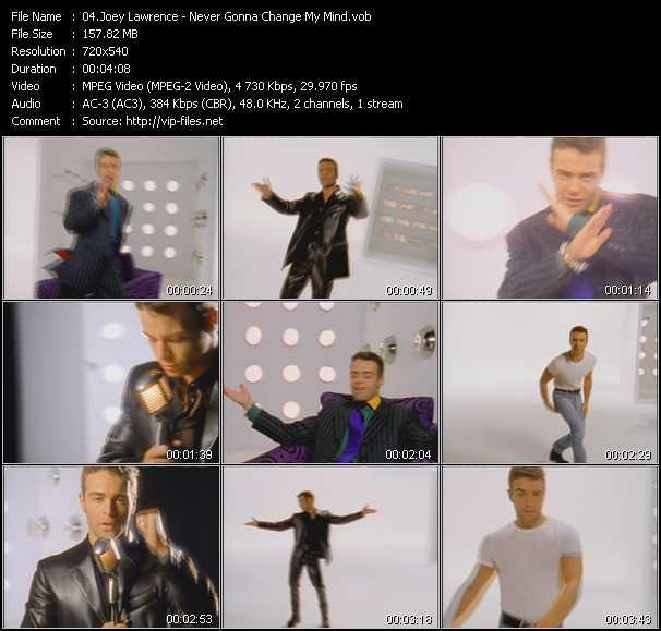 Joey Lawrence video screenshot