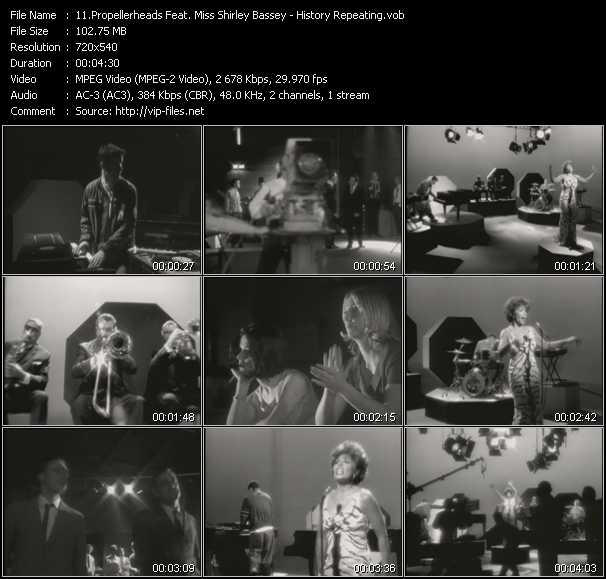 Propellerheads Feat. Miss Shirley Bassey video screenshot