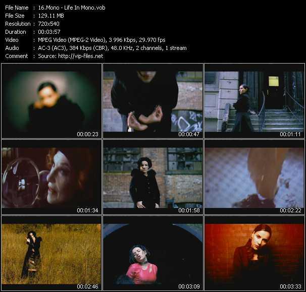 video Life In Mono screen