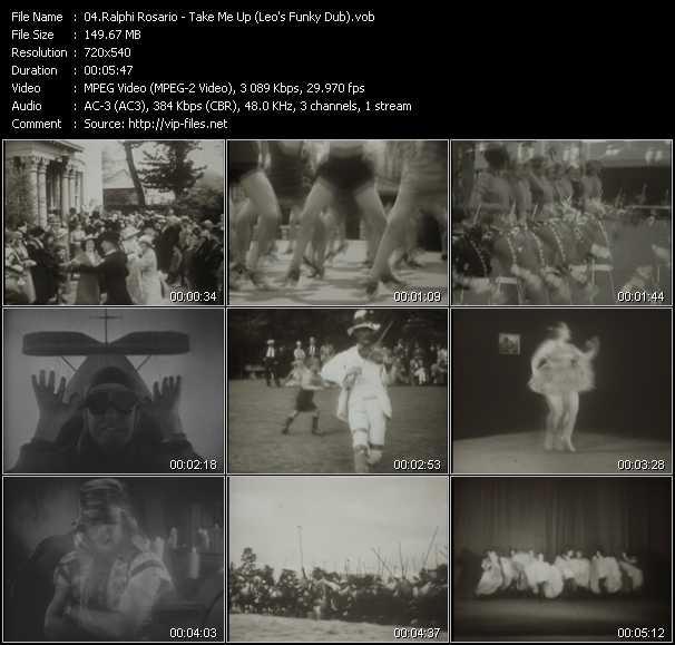 Ralphi Rosario video screenshot