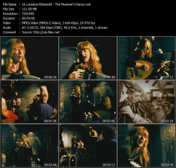 Loreena Mckennitt video screenshot