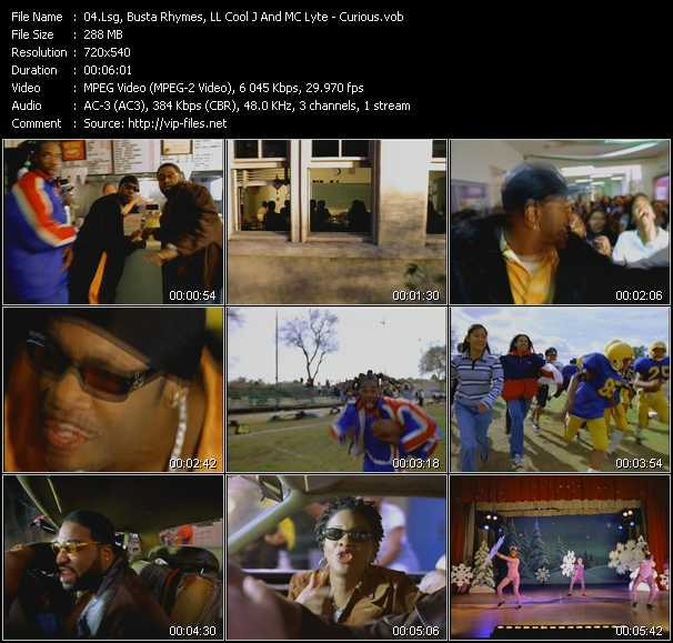 Lsg, Busta Rhymes, LL Cool J And MC Lyte video screenshot