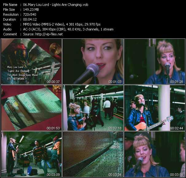 Mary Lou Lord video screenshot