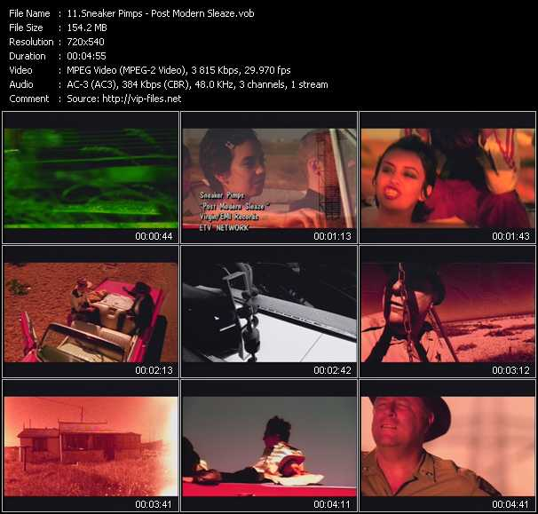 Sneaker Pimps video screenshot