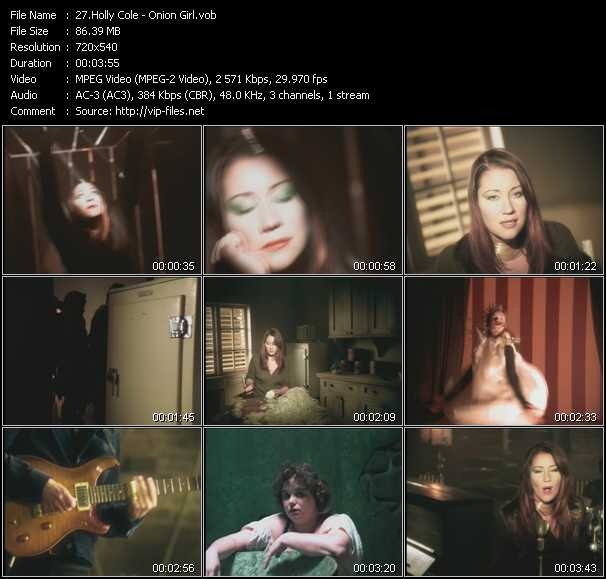 Holly Cole video screenshot