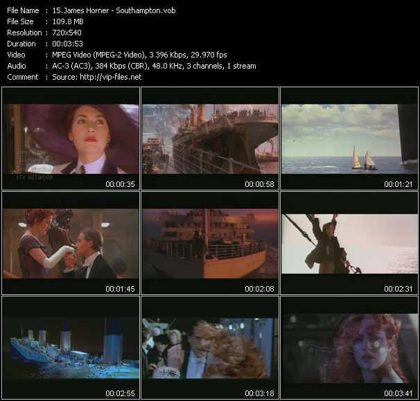 James Horner video screenshot