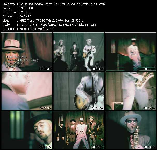 Big Bad Voodoo Daddy video screenshot