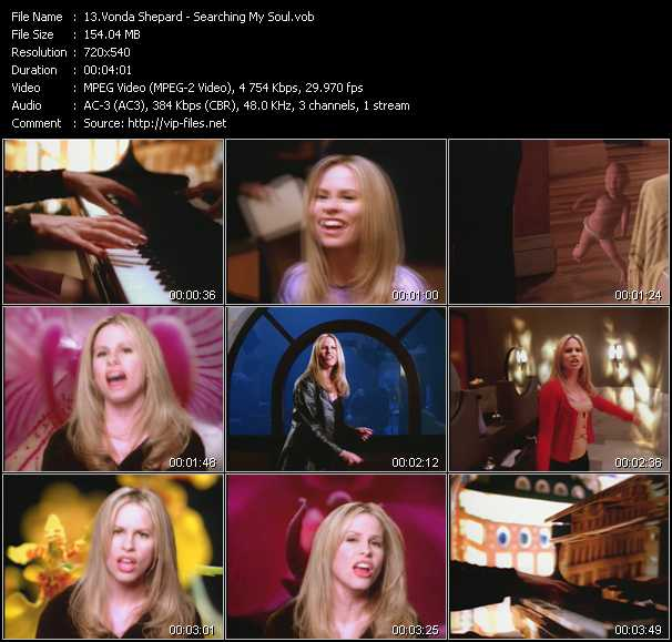 Vonda Shepard video screenshot